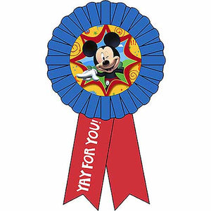 Mickey Mouse Party Supplies - Award Ribbon