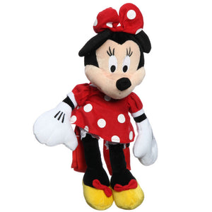 "Minnie Mouse Backpacks - 10"" Mini Plush Backpack"