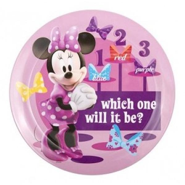 "Minnie Mouse Dinnerware - 8"" Dinner Plate"