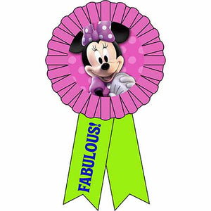 Minnie Mouse Party Supplies - Award Ribbon