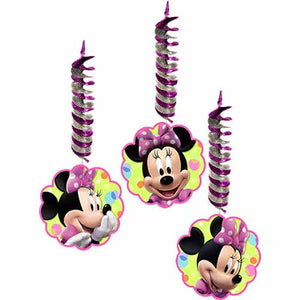 Minnie Mouse Party Supplies - Swirl Decorations