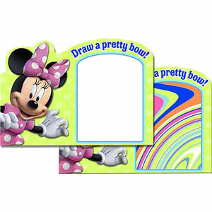 Minnie Mouse Party Supplies - Watercolor Paint Board