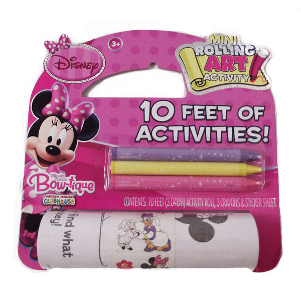 Minnie Mouse Toys - 10' Rolling Art