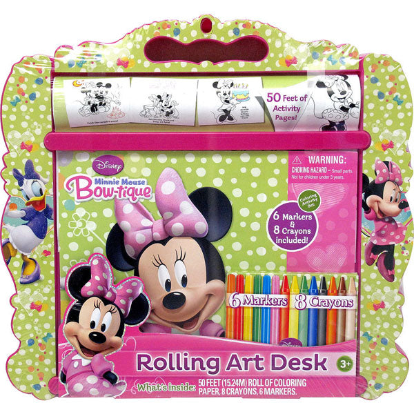 Minnie Mouse Toys - Rolling Art Desk