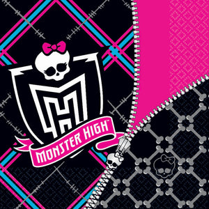 Monster High Party Supplies - Luncheon Napkins