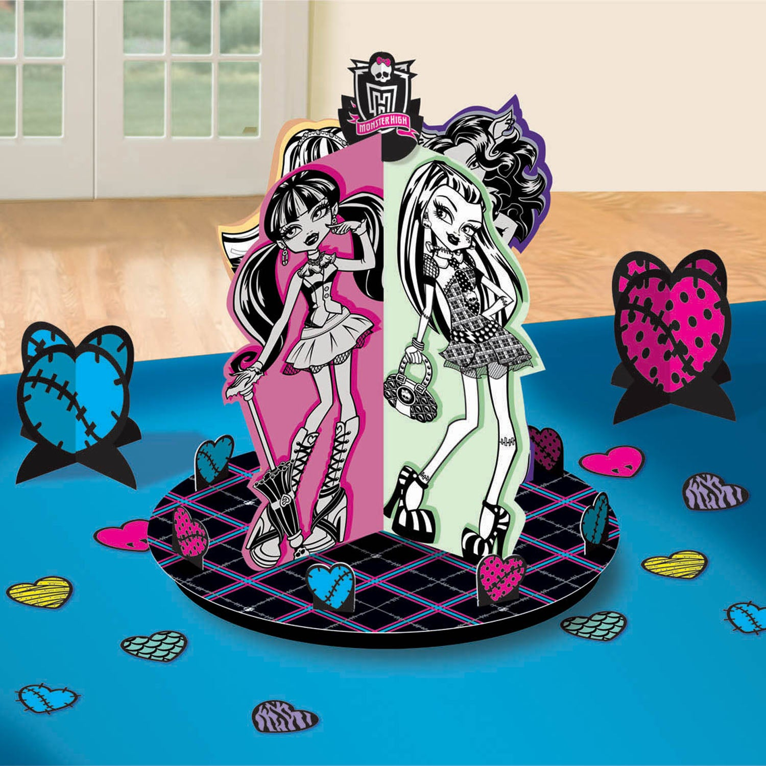 Monster High Party Supplies - Table Decorating Kit
