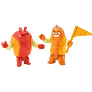 Monster University Toys - George & Big Red 2-Pack