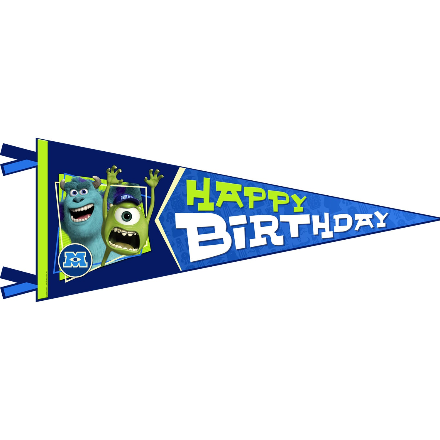 Monsters University Party Supplies - Monsters University Birthday Banner
