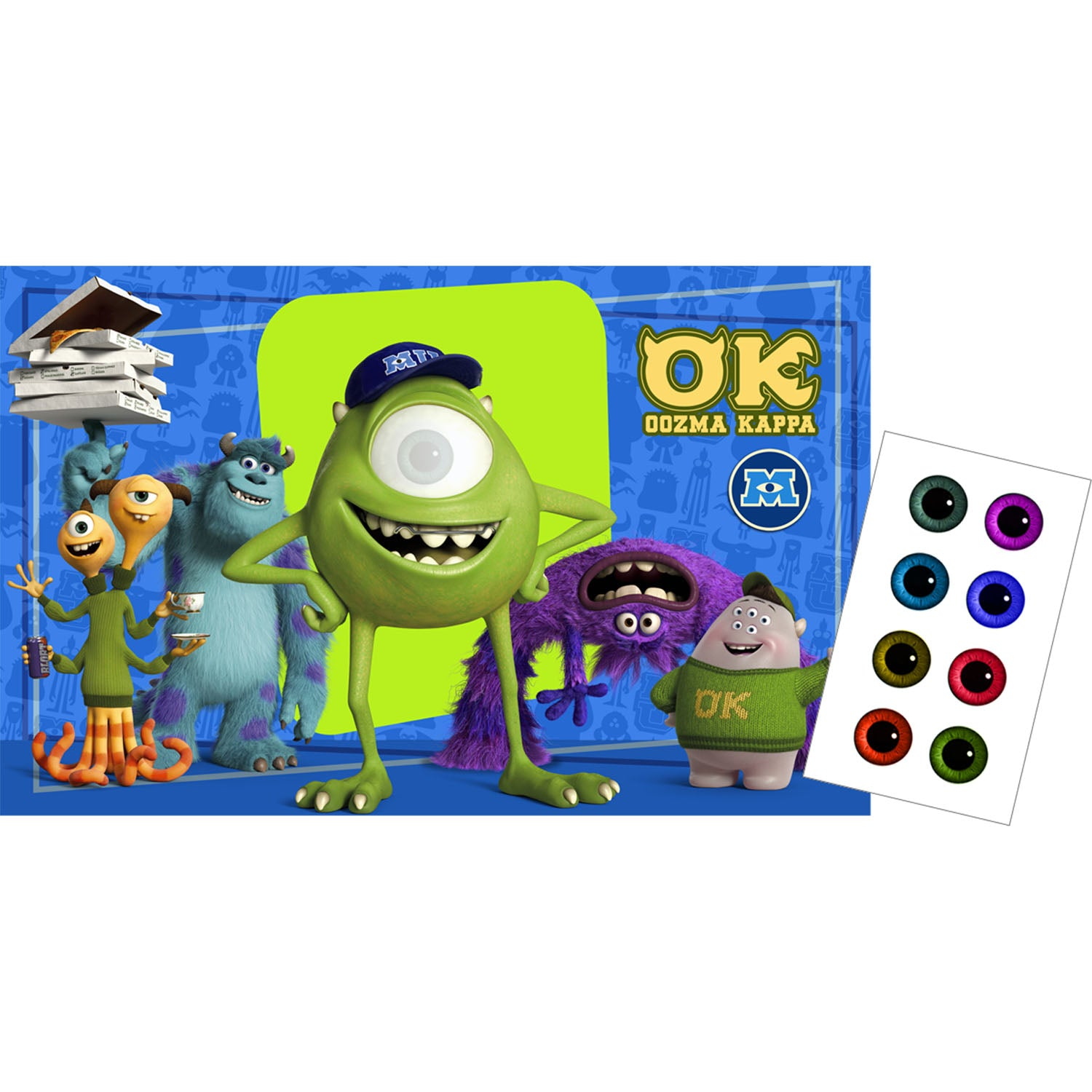 Monsters University Party Supplies - Monsters University Party Game