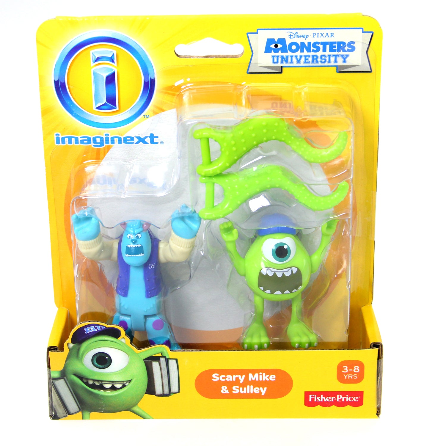 Monsters University Toys - Imaginext Scary Mike & Sully