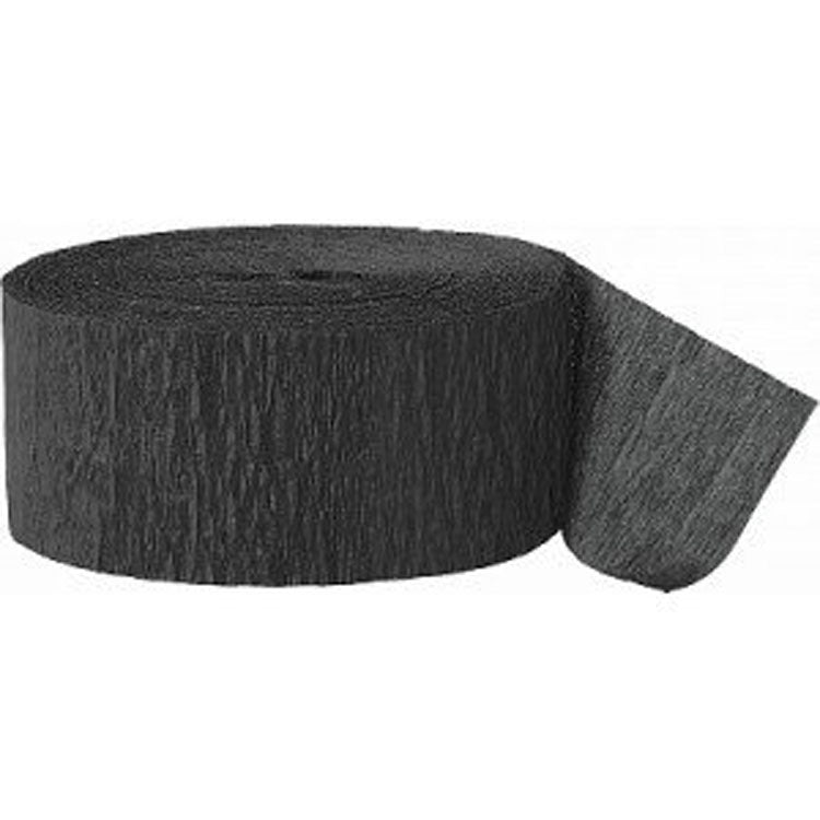 Party Supplies - Black Party Streamer