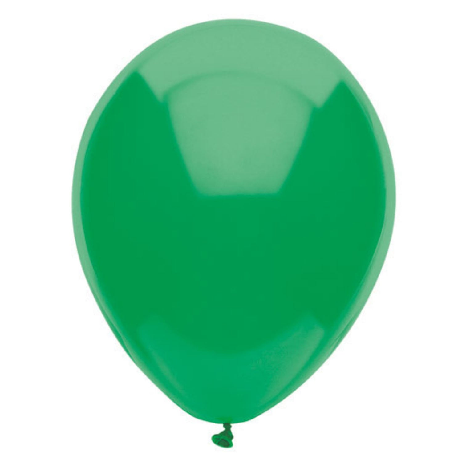 Party Supplies - Festive Green Latex Balloons