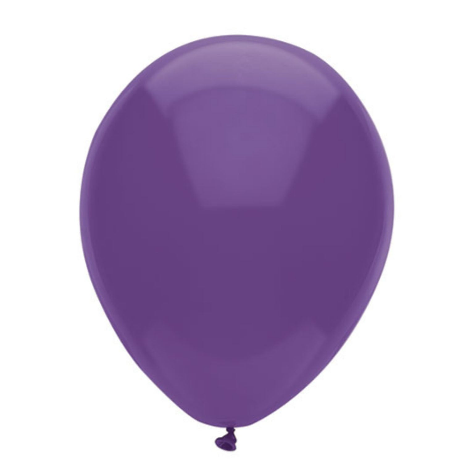 Party Supplies - Purple Latex Balloons