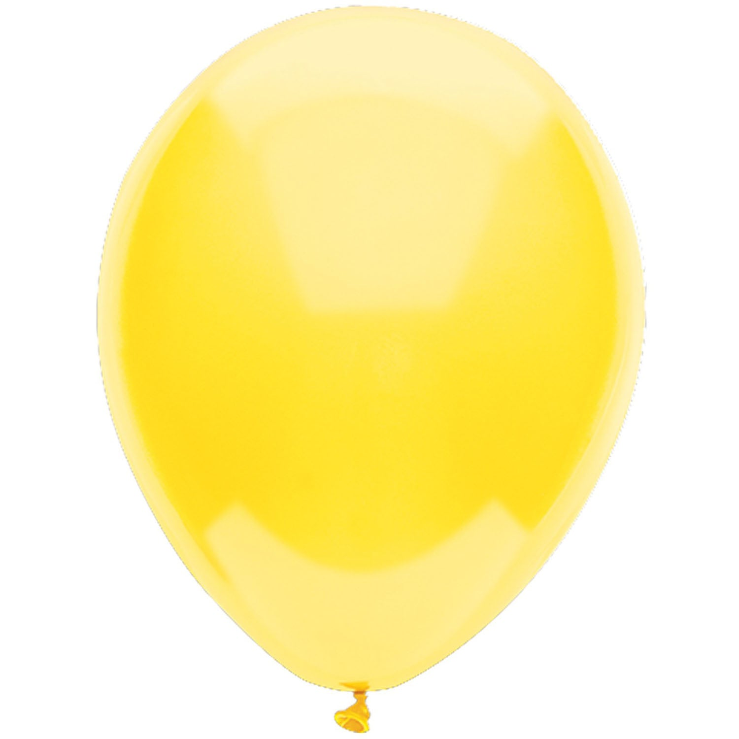 Party Supplies - Yellow Sunshine Latex Balloons
