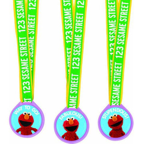 Sesame Street Party Supplies - Mini Award Medals