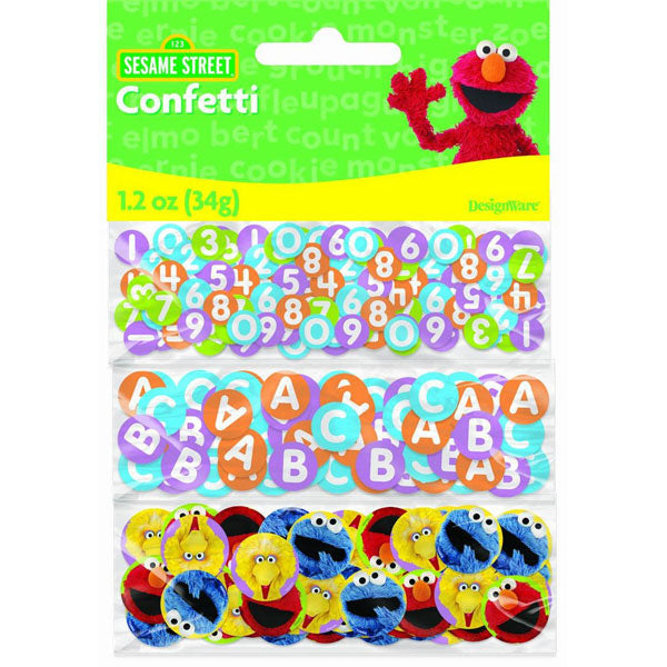 Sesame Street Party Supplies - Party Confetti