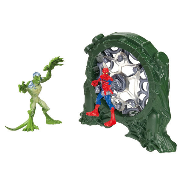 Spider-Man Toys - The Amazing Spider-Man Web Launchers Sewer Slingshot