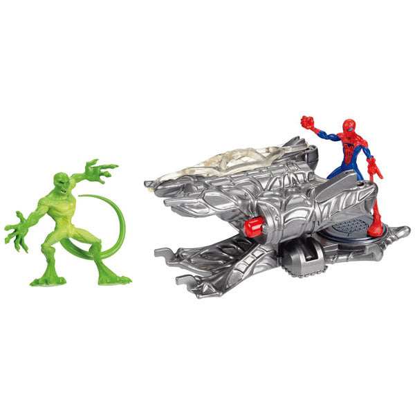 Spider-Man Toys - The Amazing Spider-Man Web Launchers Twin-Shot Cannon