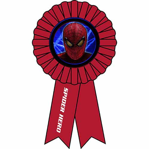 Spider-Man Party Supplies - Award Ribbon