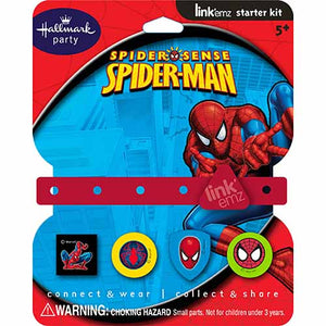 Spider-Man Party Supplies - Link'Emz Charm Band Kit