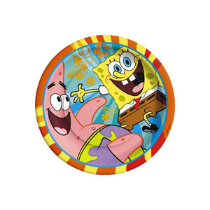 "SpongeBob SquarePants Party Supplies - 7"" Buddies Dessert Plates"