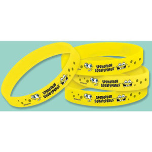 Spongebob Squarepants Party Supplies - Wrist Bands