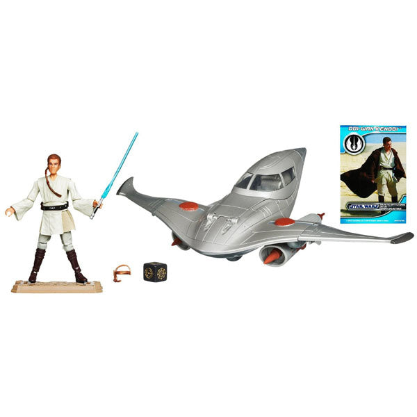 Star Wars Toys - Naboo™ Royal Fighter Vehicle with Obi-Wan Kenobi™ Figure
