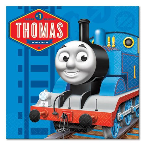 Thomas & Friends Birthday Party Supplies - Beverage Napkins