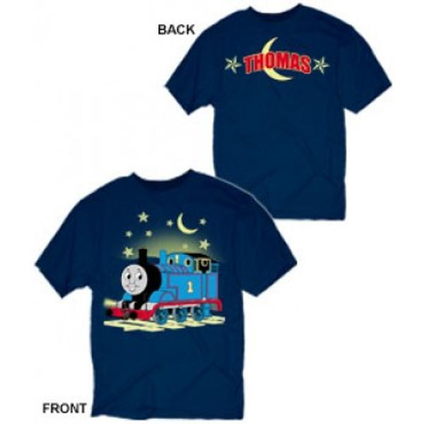 Thomas the Train Clothing - Nighttime Thomas Glow-in-the-Dark T-Shirt