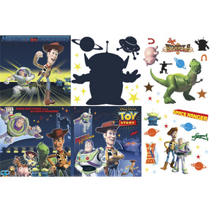 Toy Story Bedroom Decor - 3D Wall Decorating Kit