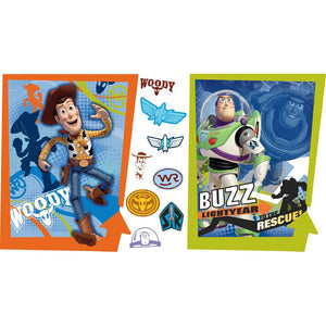 Toy Story Bedroom Decor - Buzz & Woody Giant Wall Decals