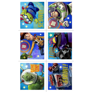 Toy Story Party Supplies - Game Time Sticker Favors