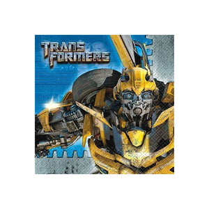 Transformers Party Supplies - Beverage Napkins
