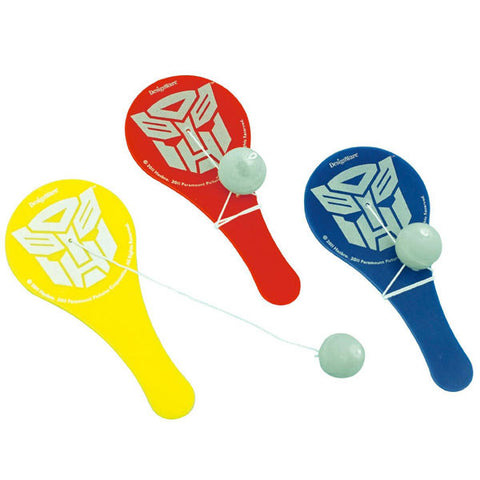 Transformers Party Supplies - Paddle Ball