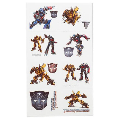Transformers Party Supplies - Temporary Tattoo Favors
