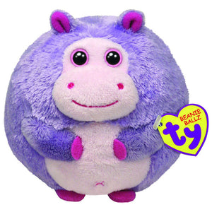 Ty Beanie Ballz - Dewdrop the Hippo Medium