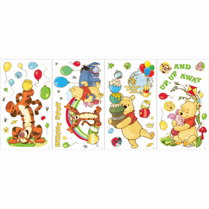 Winnie the Pooh Bedroom Decor - Worry Free Day Wall Stickers