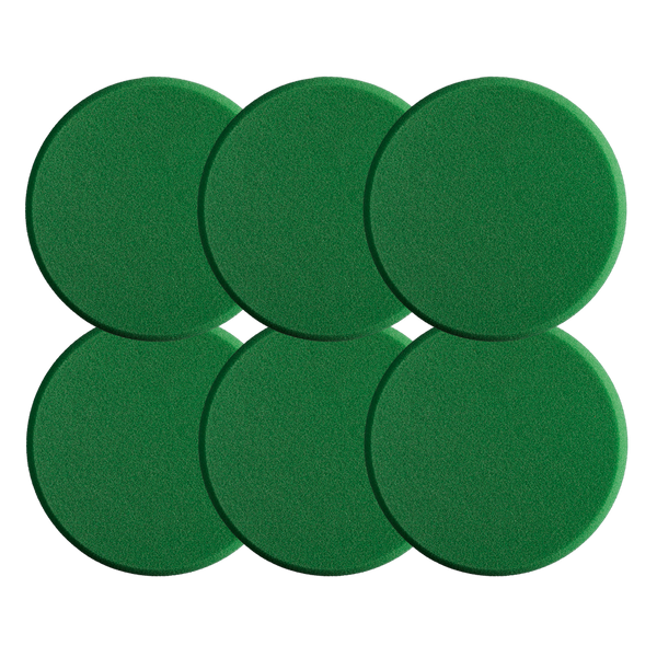 Polishing Pad Green 80 (Medium) 6 Pack
