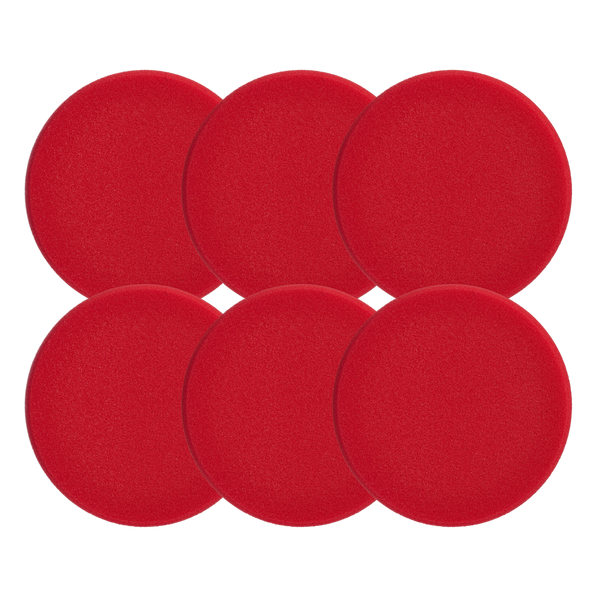 Polishing Pad Red 80 (Hard) 6 pack