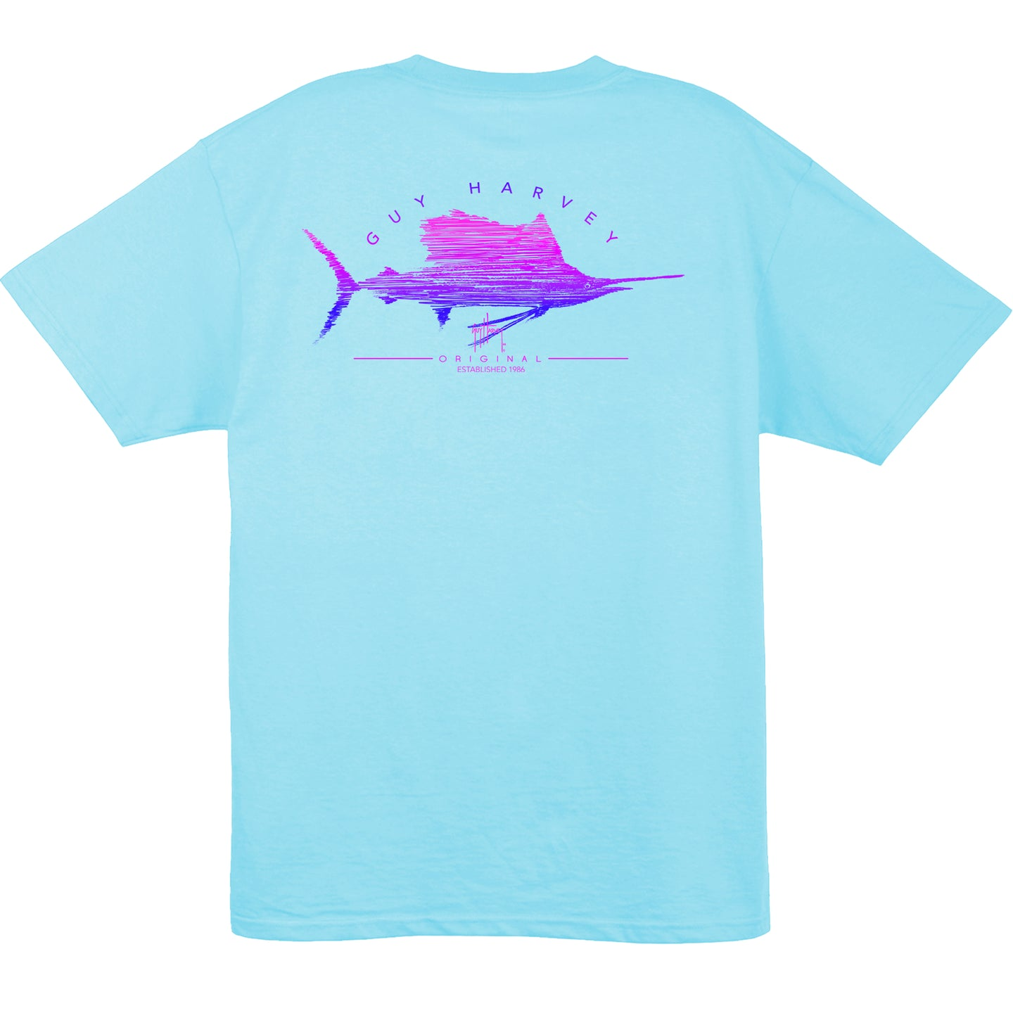 Womens Sailfish Scribble SS T-Shirts