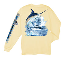 Load image into Gallery viewer, Marlin Boat LS T-Shirt
