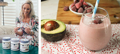 Breakie on the run: two of my favourite smoothies