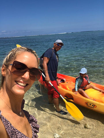 Kayaking in Reunion Island