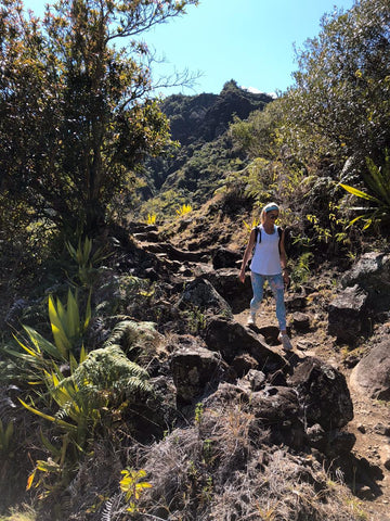 La Chapelle hike at Reunion Island
