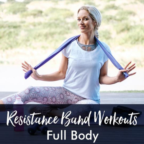 Lisa Raleigh full body resistance band workout