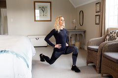 Lisa Raleigh lunging proper technique