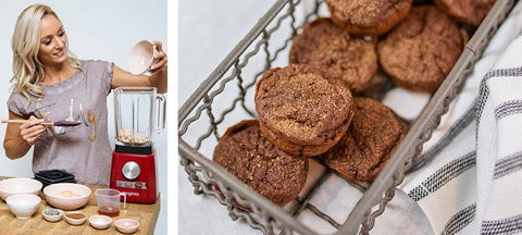 Lisa Raleigh's mini superfood chocolate muffins