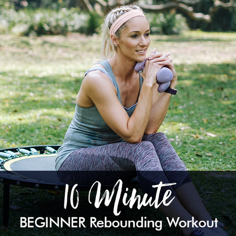 10-Minute BEGINNER rebounding workout
