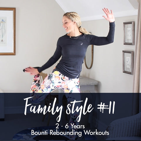 Lisa Raleigh Bounce Back Workouts | Family Style #11 | Age 2-6