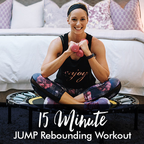 15-Minute JUMP Rebounding Workout with Freddy